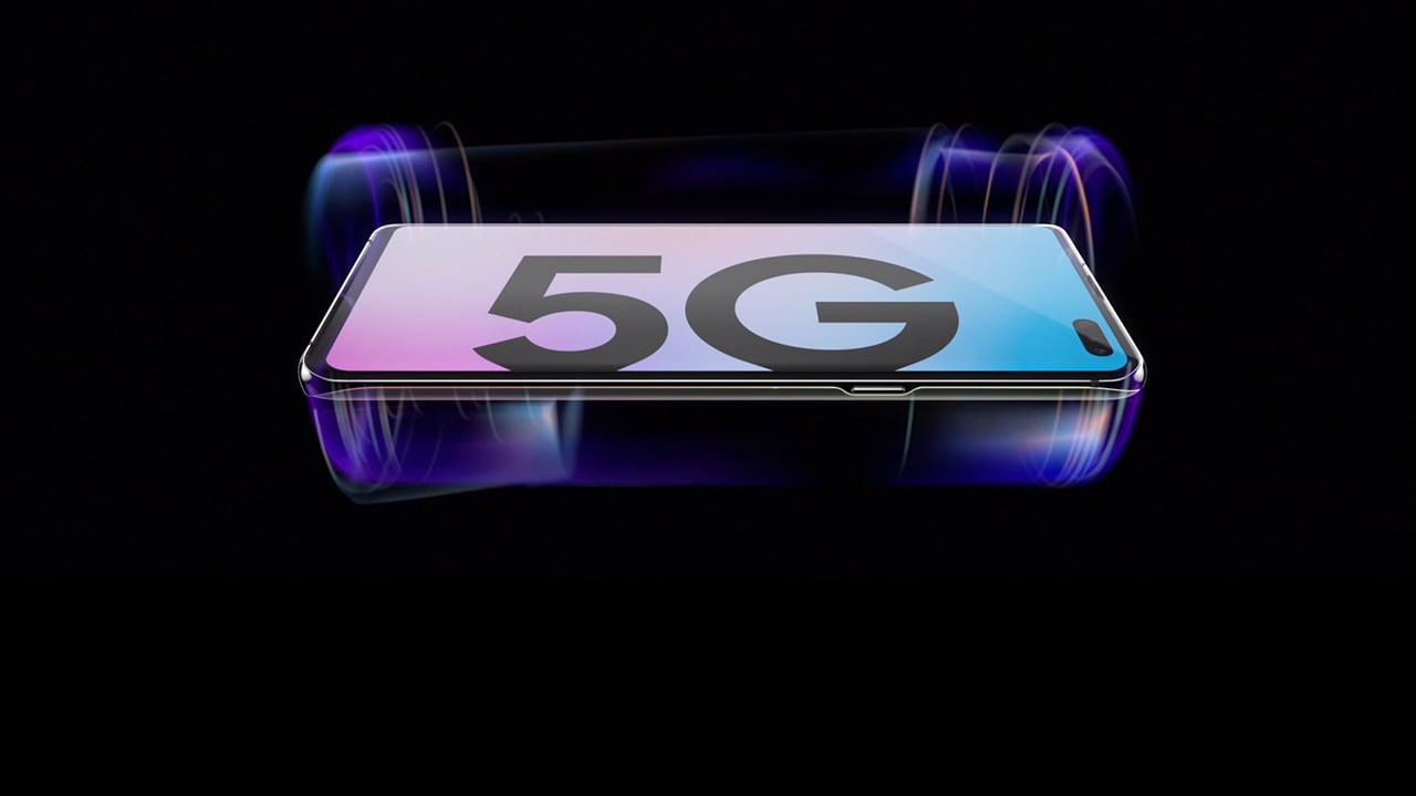 The cutting-edge Samsung Galaxy S10 5G - Our first 5G enabled phone