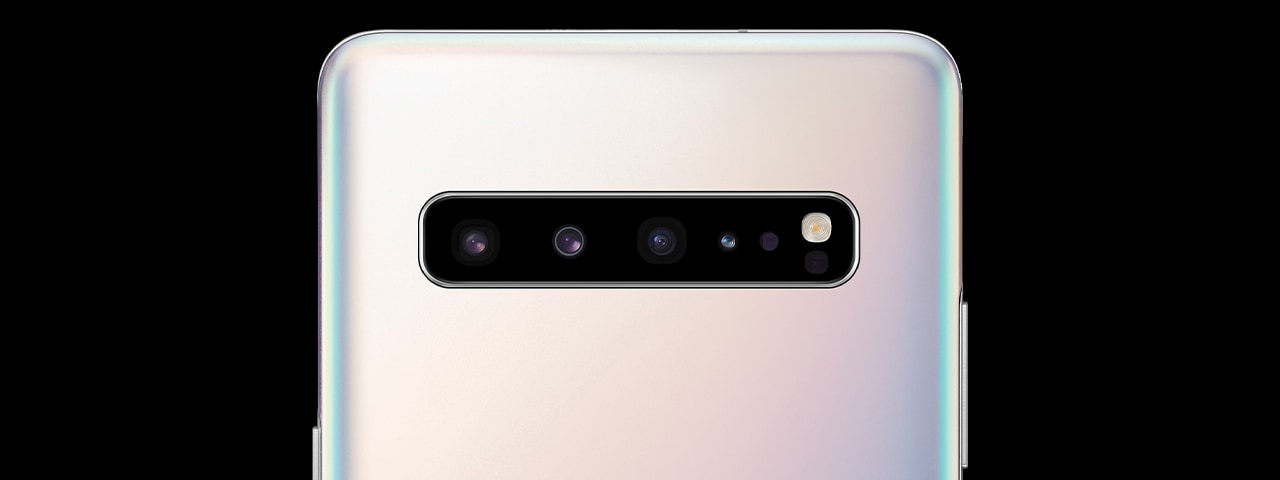Samsung Galaxy S10 5G phone camera