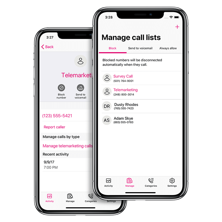 T-Mobile Name ID | Identify Calls & Texts from Unknown Phone