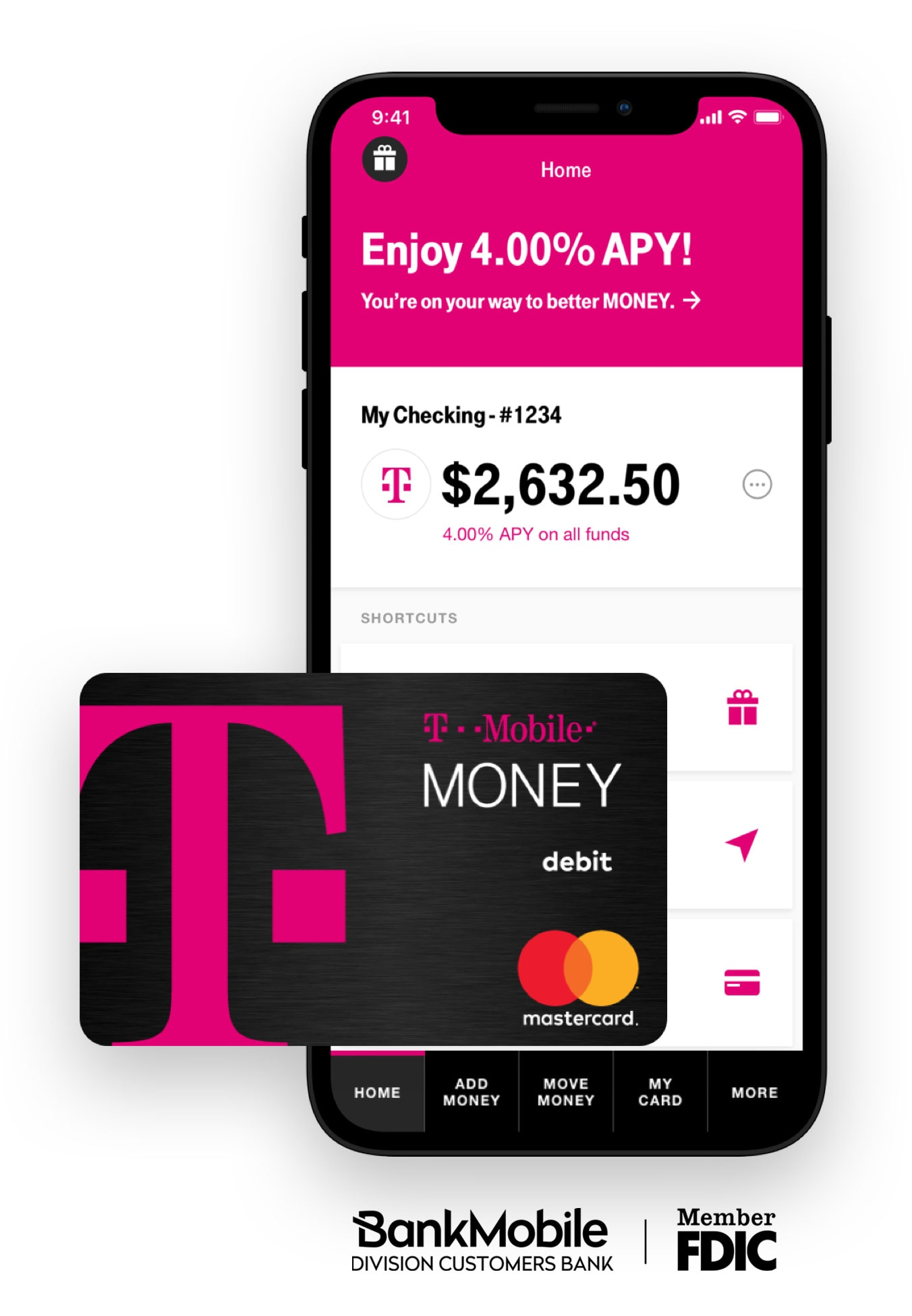 Bye, Big Banks  Hello, T-Mobile MONEY Introducing Your No-Fee
