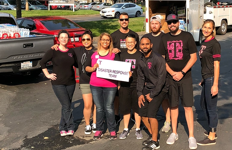 T-Mobile disaster response team
