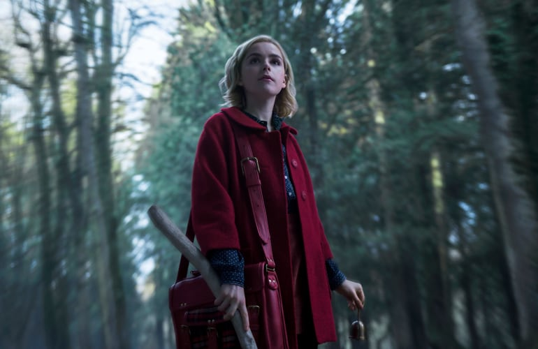 'Chilling Adventures of Sabrina' starring Kiernan Shipka
