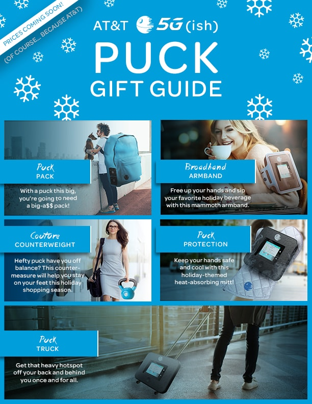 AT&T 5G Puck Gift Guide