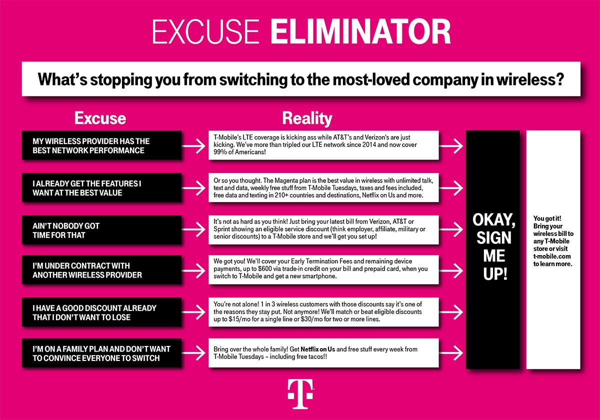 Love Your Discount, Not Your Carrier? T-Mobile Will Match or
