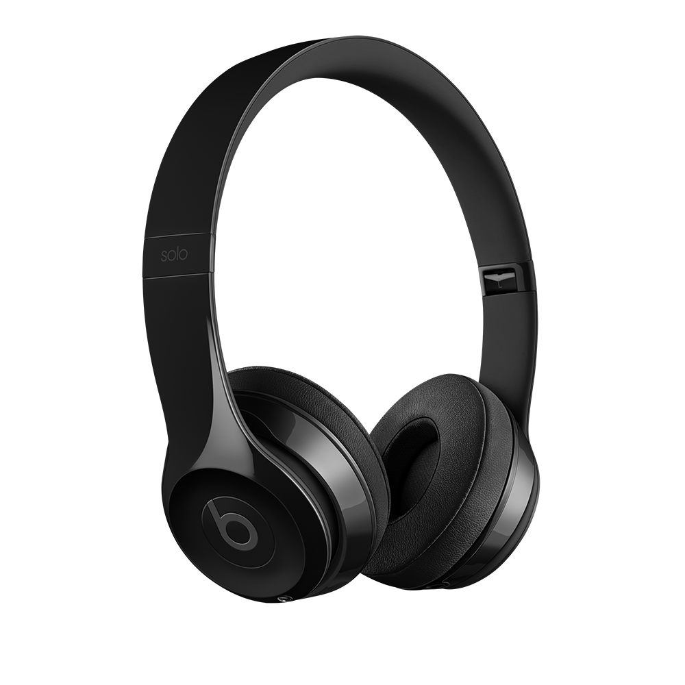 Beats Solo3 Wireless On-Ear Headphones Gloss Black f96eb55db10b