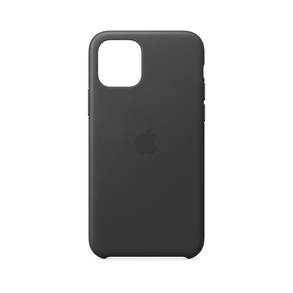 Apple Leather Case for Apple iPhone 11 Pro - Black