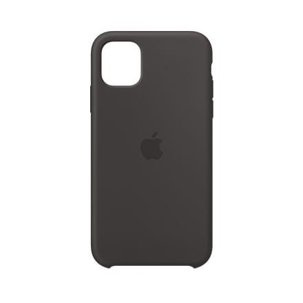Apple Silicone Case for Apple iPhone 11 Pro - Black