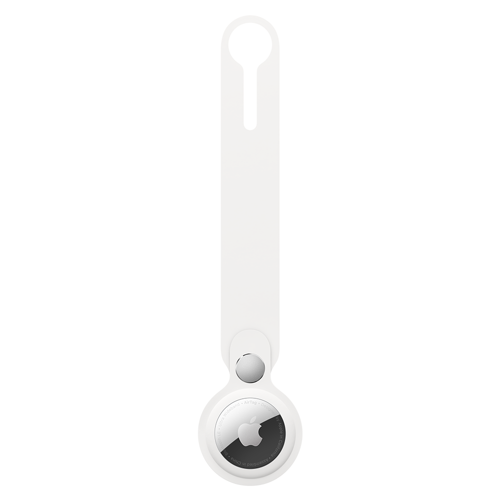 Apple AirTag Loop Case - White