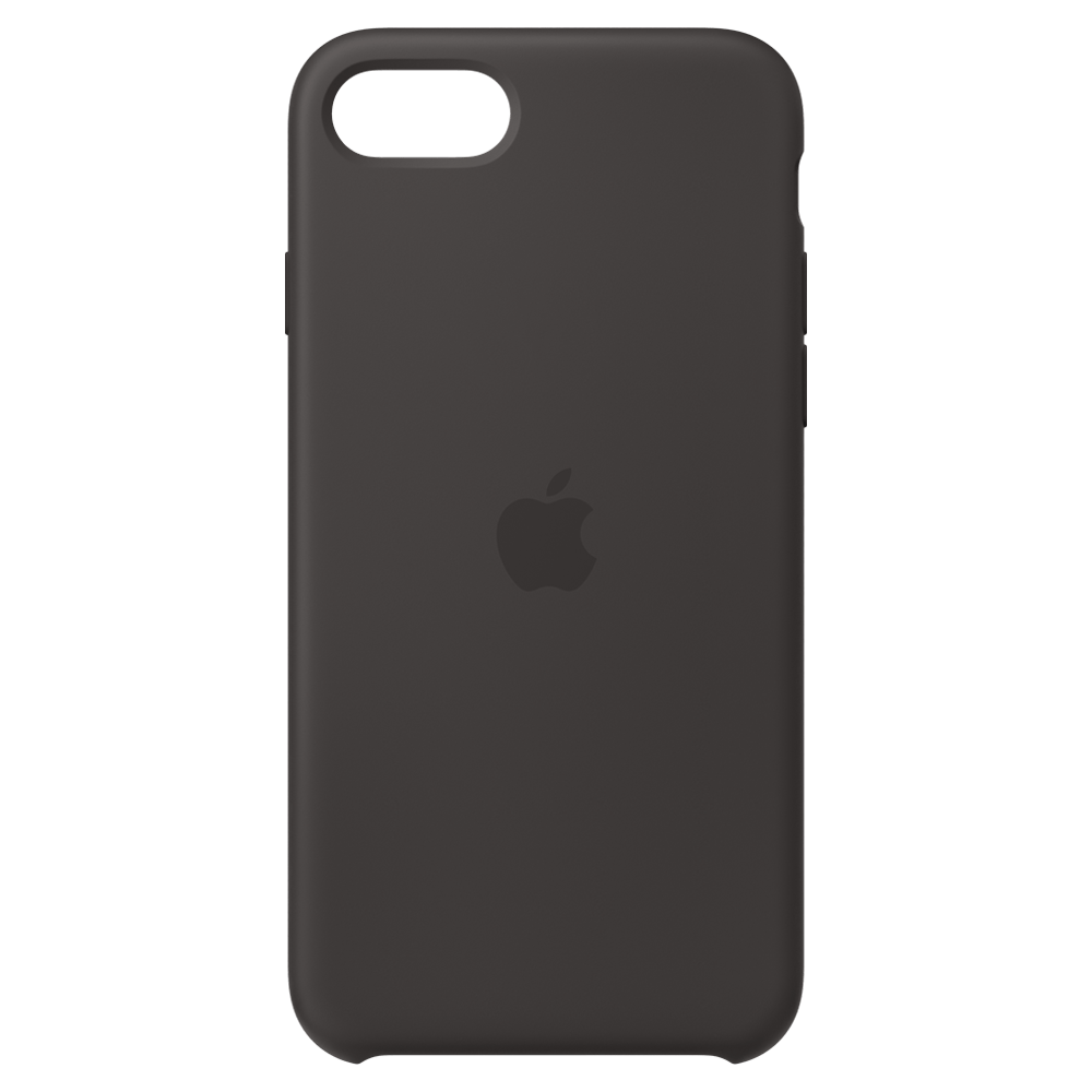 Apple Silicone Case for iPhone SE (2020) /8/7 - Black