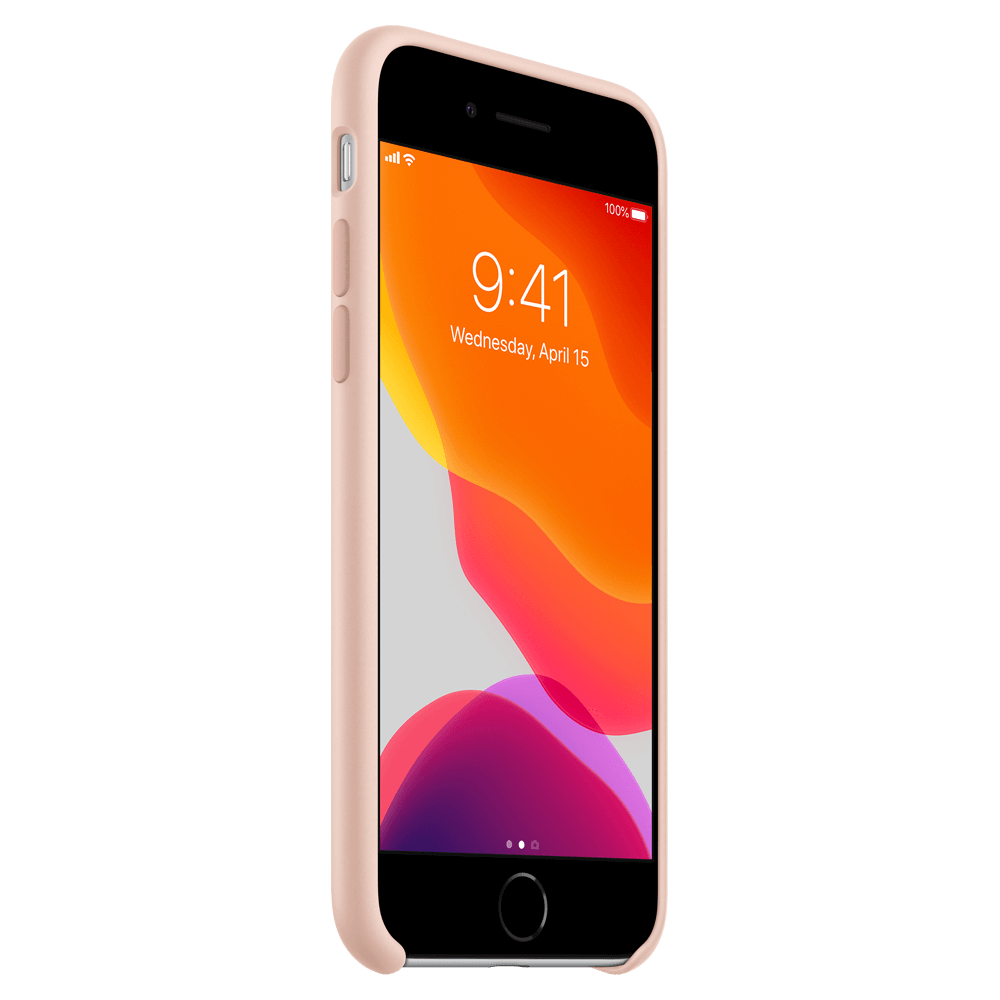 Apple Silicone Case for iPhone SE(2020) /8/7 - Pink Sand