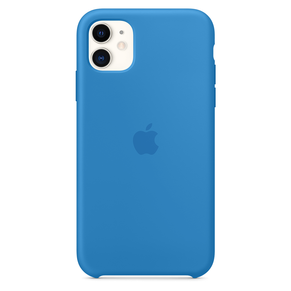 Apple Silicone Case for Apple iPhone 11 - Surf Blue