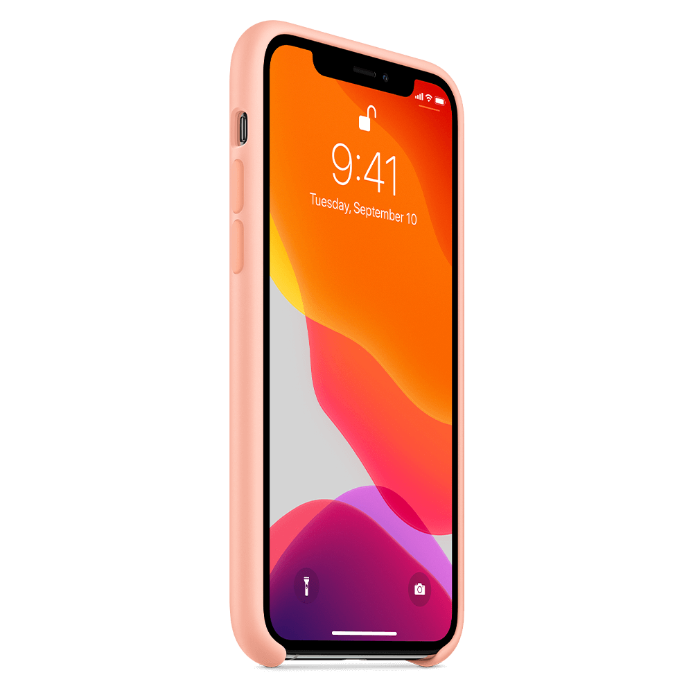 Apple Silicone Case for Apple iPhone 11 Pro - Grapefruit