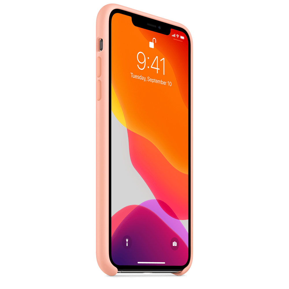 Apple Silicone Case for Apple iPhone 11 Pro Max - Grapefruit