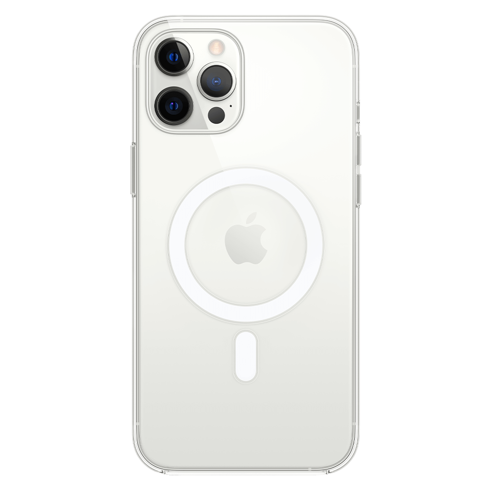 Apple Clear Case with MagSafe for Apple iPhone 12 Pro Max - Clear
