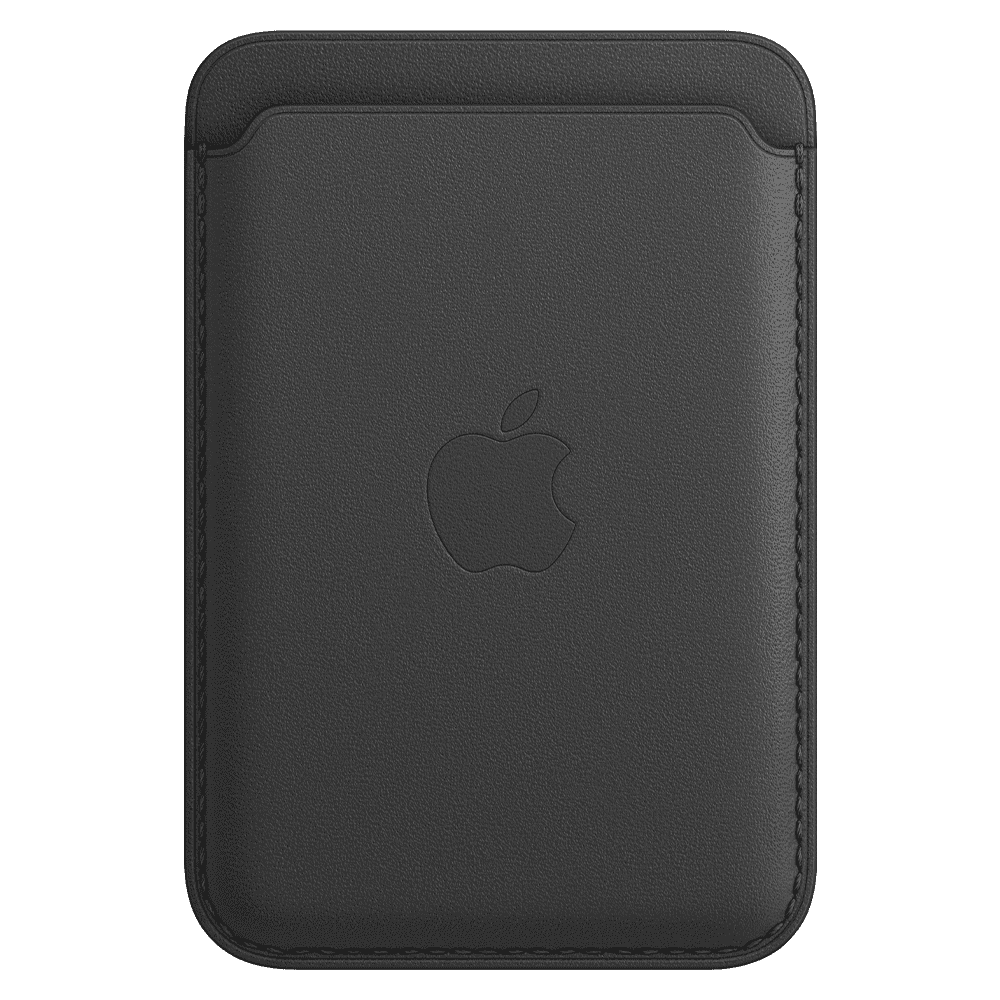Apple iPhone Leather Wallet with MagSafe - Black