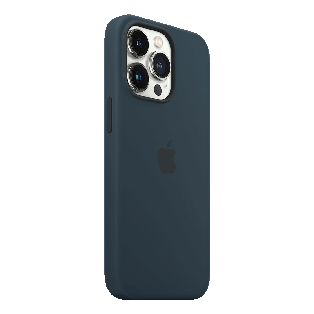Apple Silicone Case with MagSafe for iPhone 13 Pro - Abyss Blue