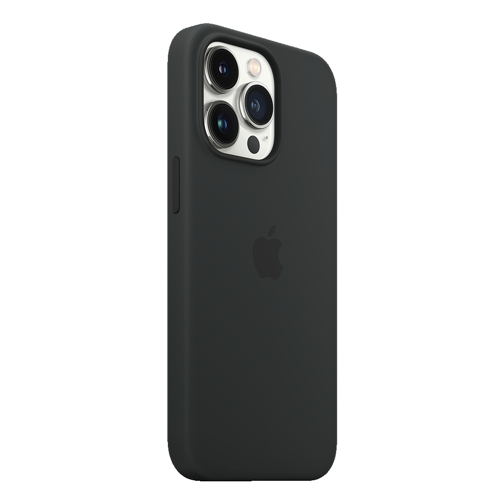 Apple Silicone Case with MagSafe for iPhone 13 Pro - Midnight