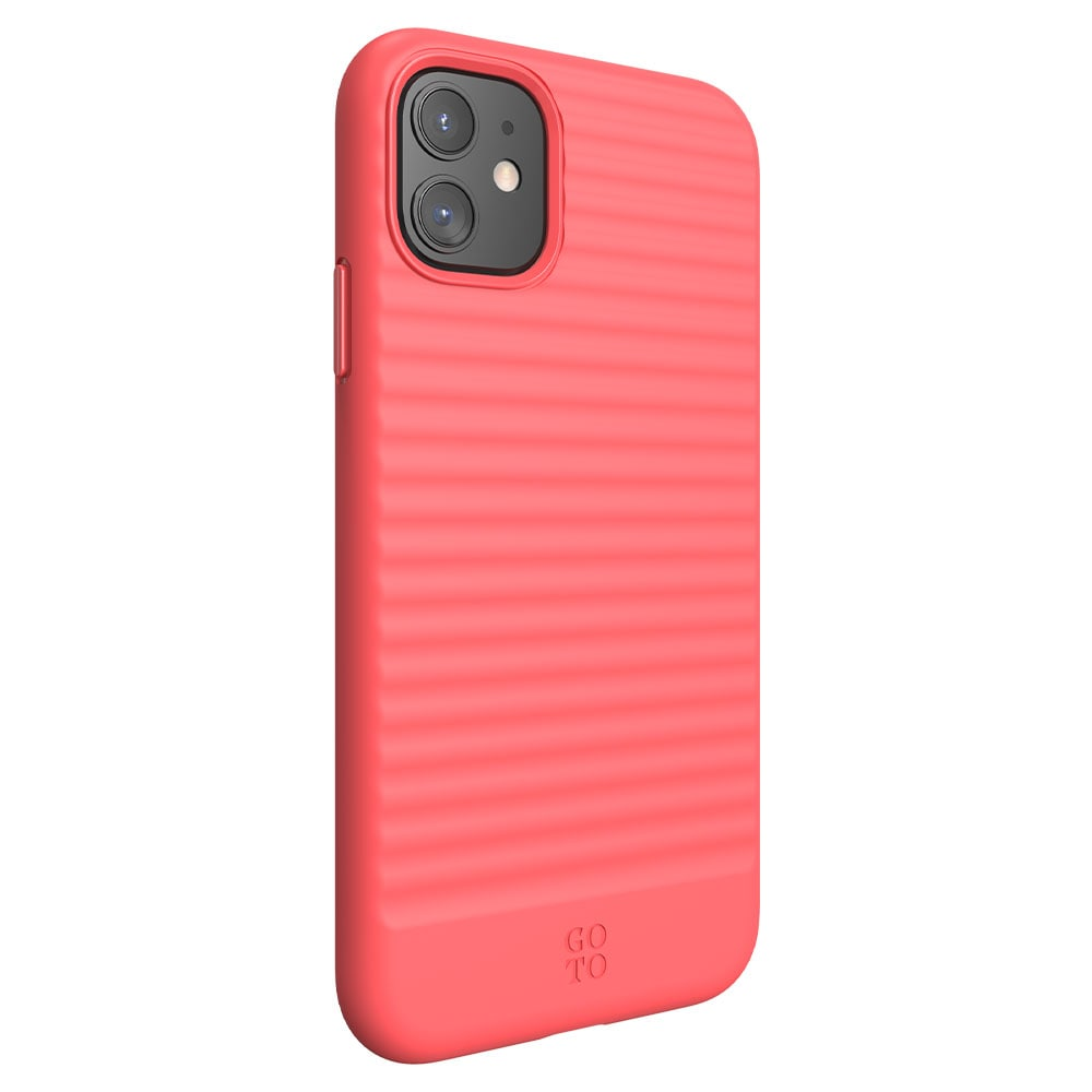 GoTo Swell Case for iPhone 11 - Bright Coral