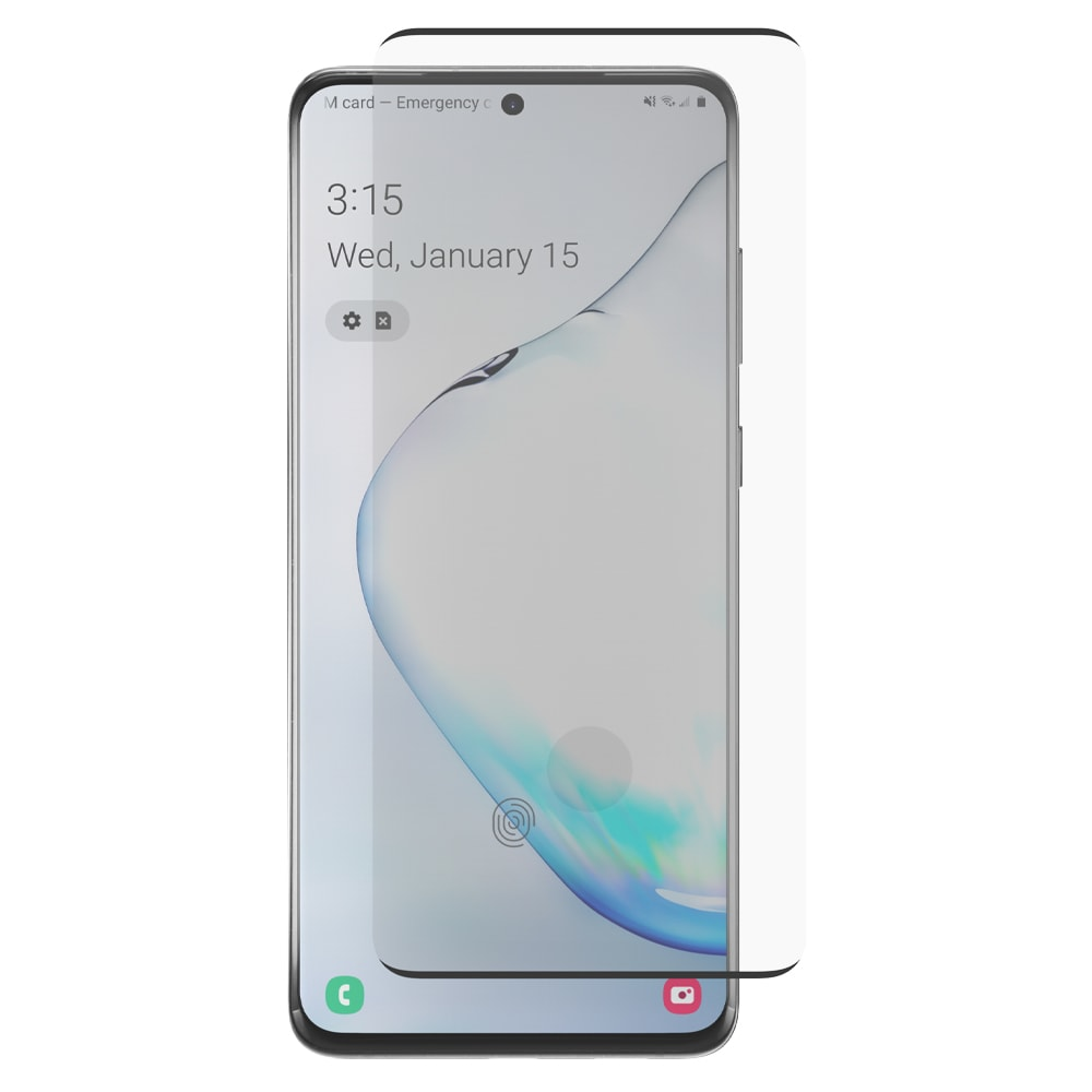 GoTo Tempered Glass Screen Protector with Sensor for Samsung Galaxy S20+ - Clear