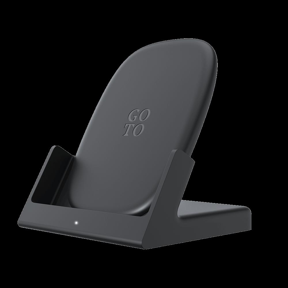 GoTo 10W Wireless Charging Stand - Black