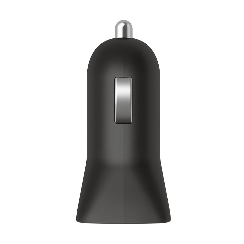 GoTo™ Single USB-A Car Charger - Black