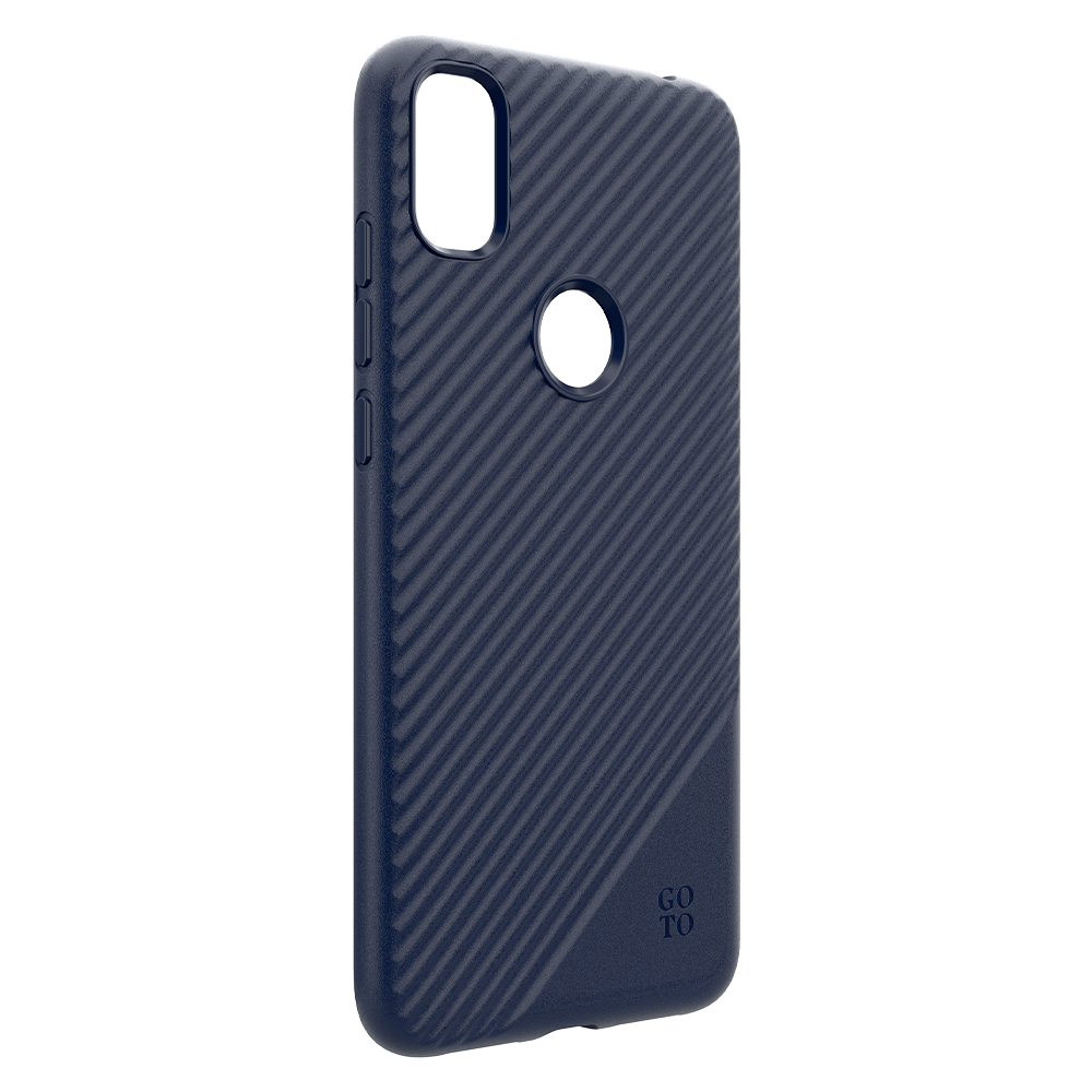 GoTo™ Fine Swell 45 Case for T-Mobile® REVVL 4 - Navy