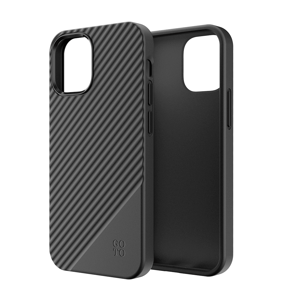 GoTo™ Fine Swell 45 Case for Apple iPhone 12 mini - Black