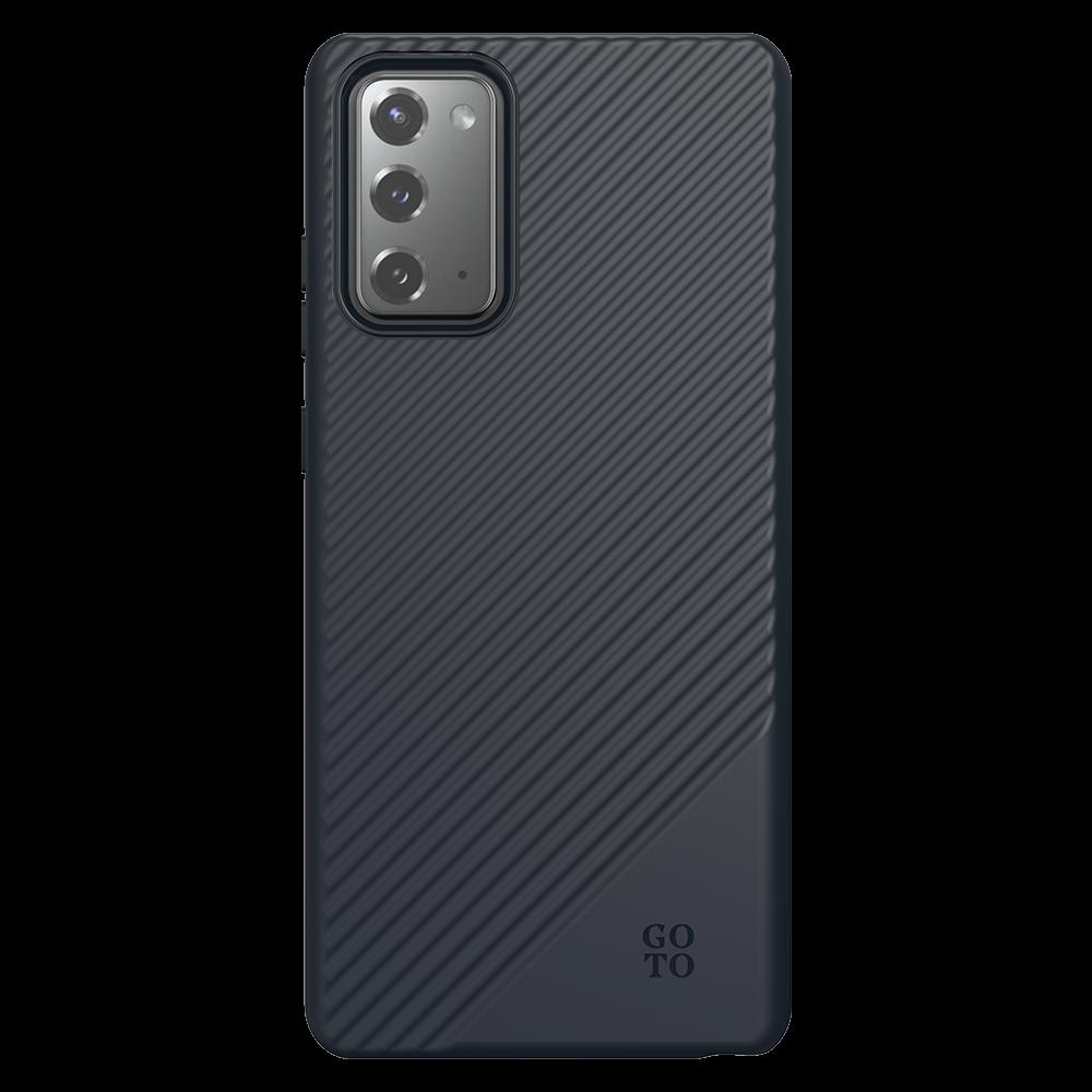 GoTo Fine Swell 45 Case for Samsung Galaxy Note20 5G - Black