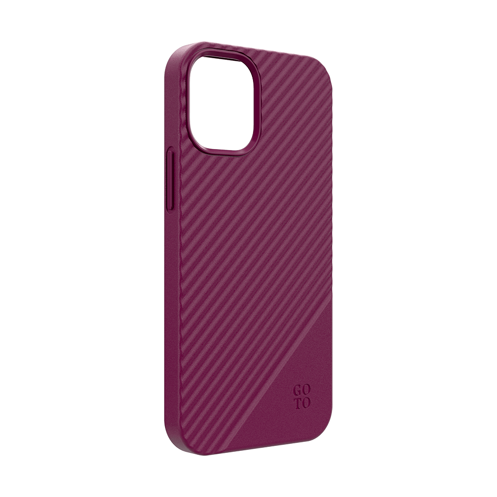 GoTo™ Fine Swell 45 Case for Apple iPhone 12 mini - Purple