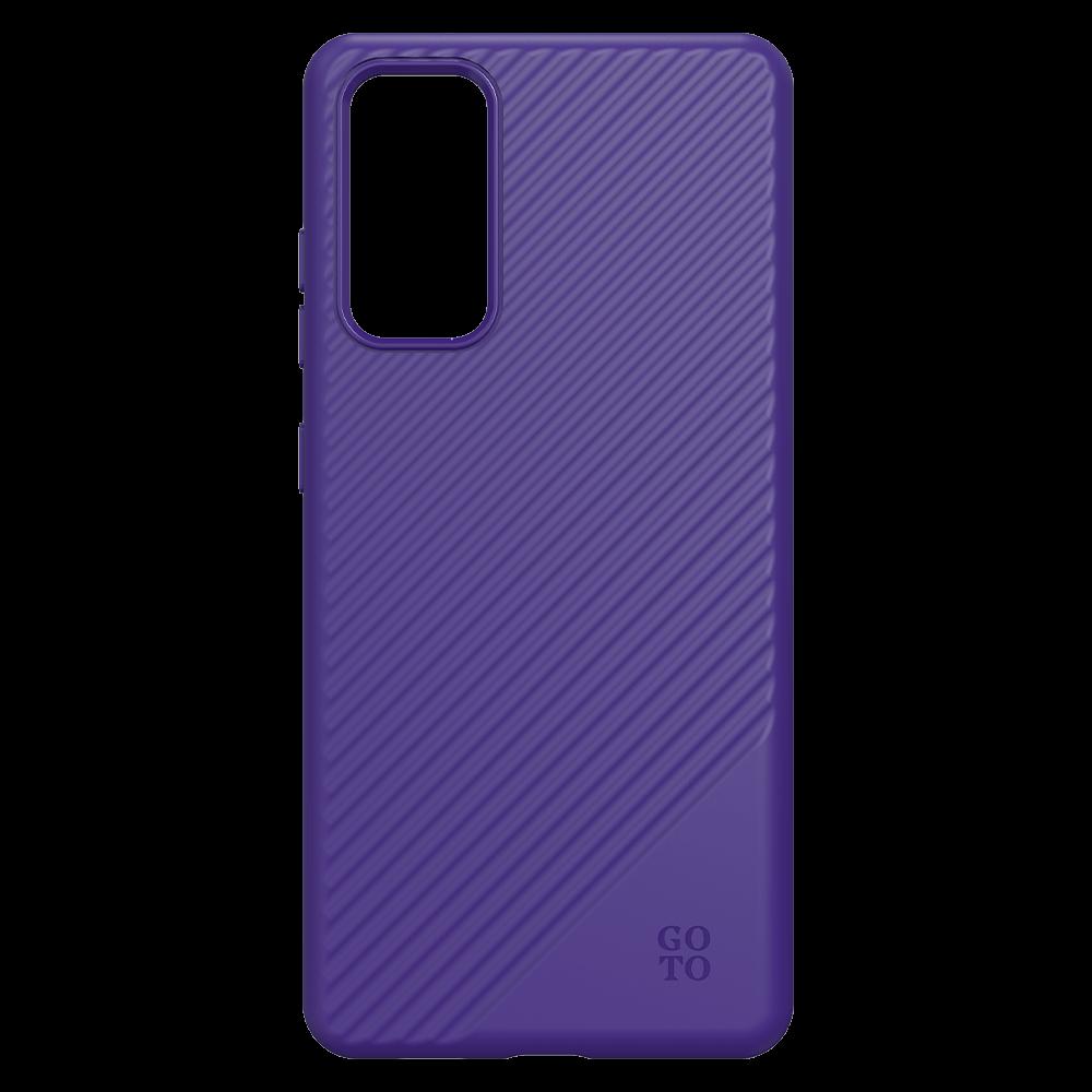 GoTo Fine Swell 45 Case for Samsung Galaxy S20 FE 5G - Magenta Purple