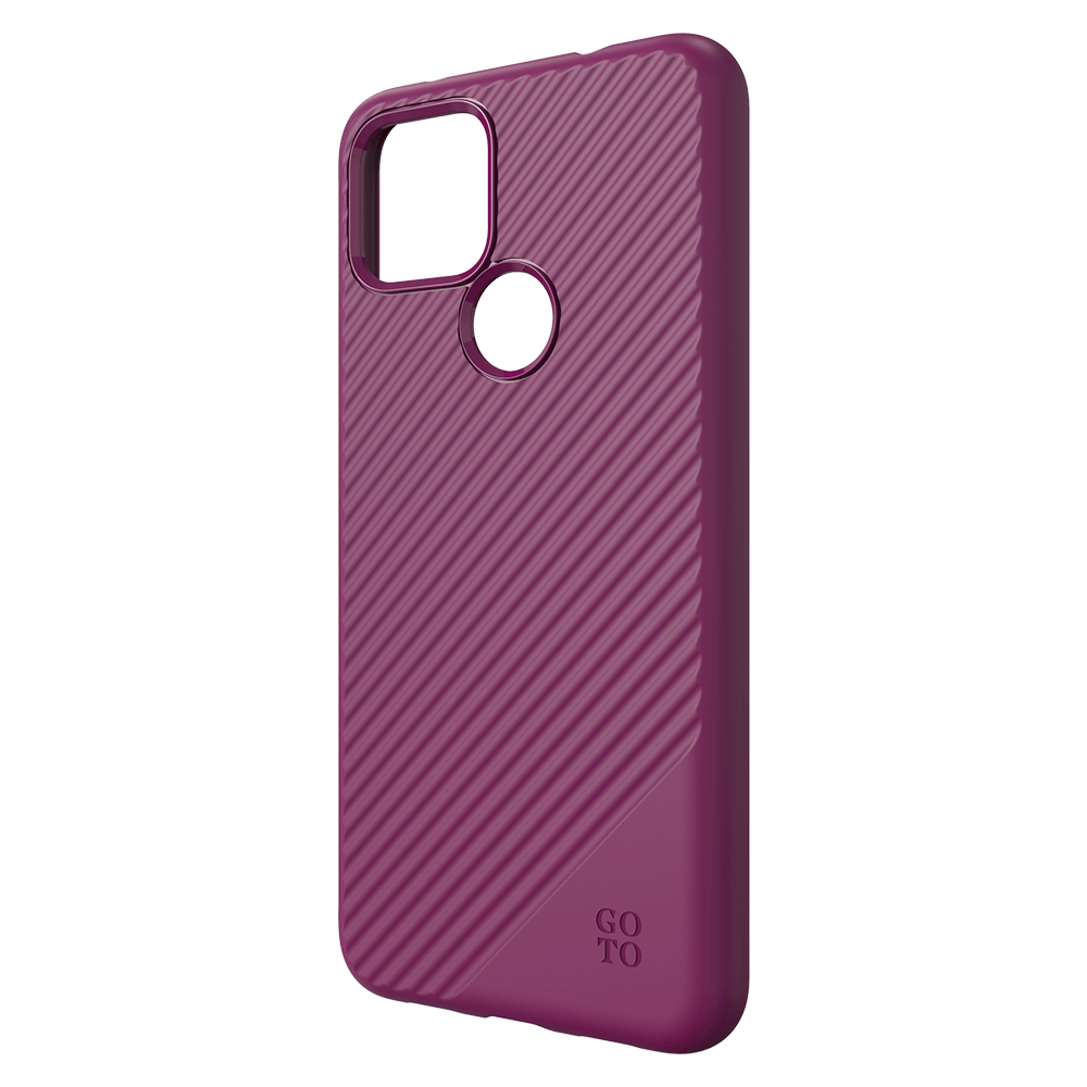 GoTo Fine Swell 45 Case for Google Pixel 4a 5G - Magenta Purple