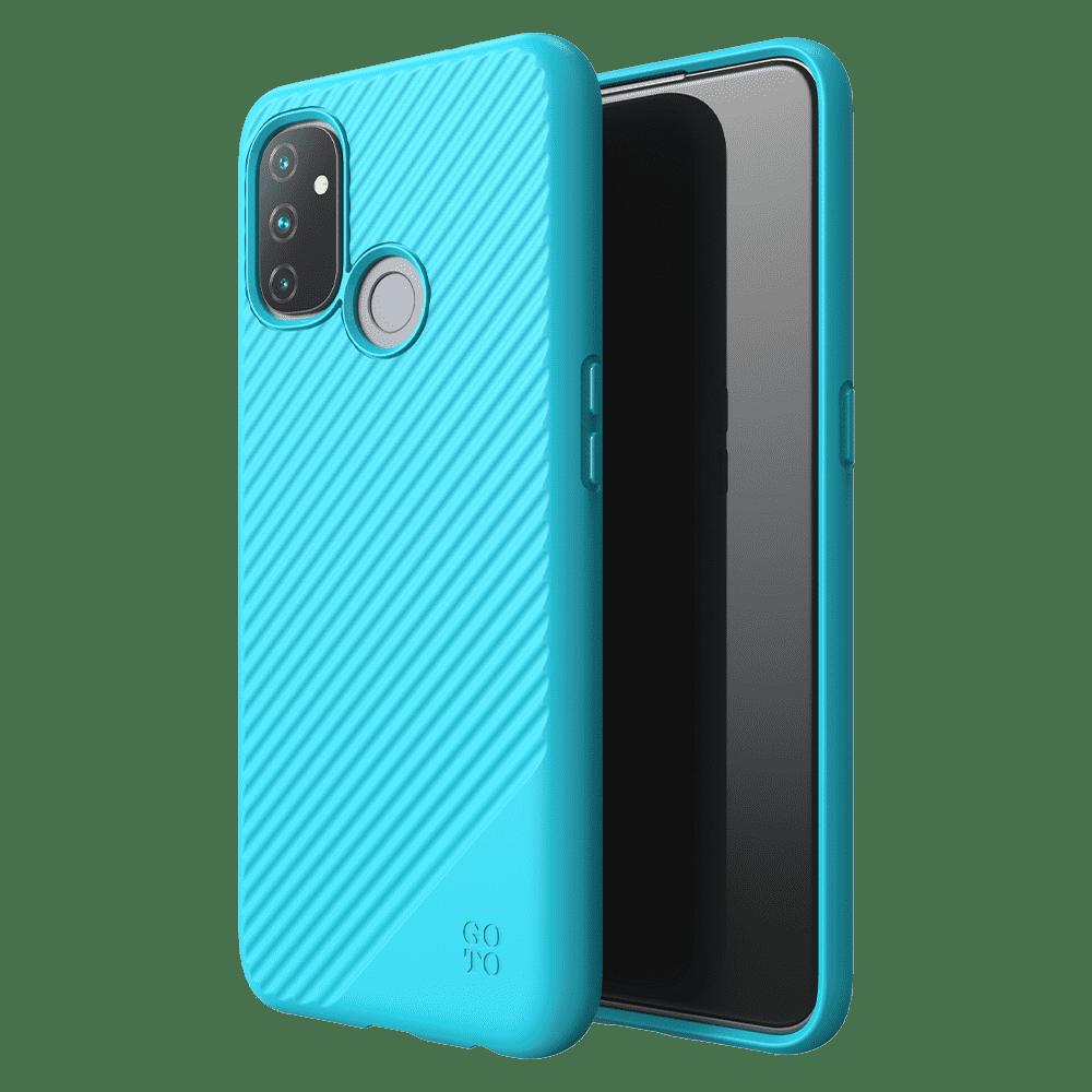GoTo™ Fine Swell 45 Case for OnePlus Nord N100 - Aqua