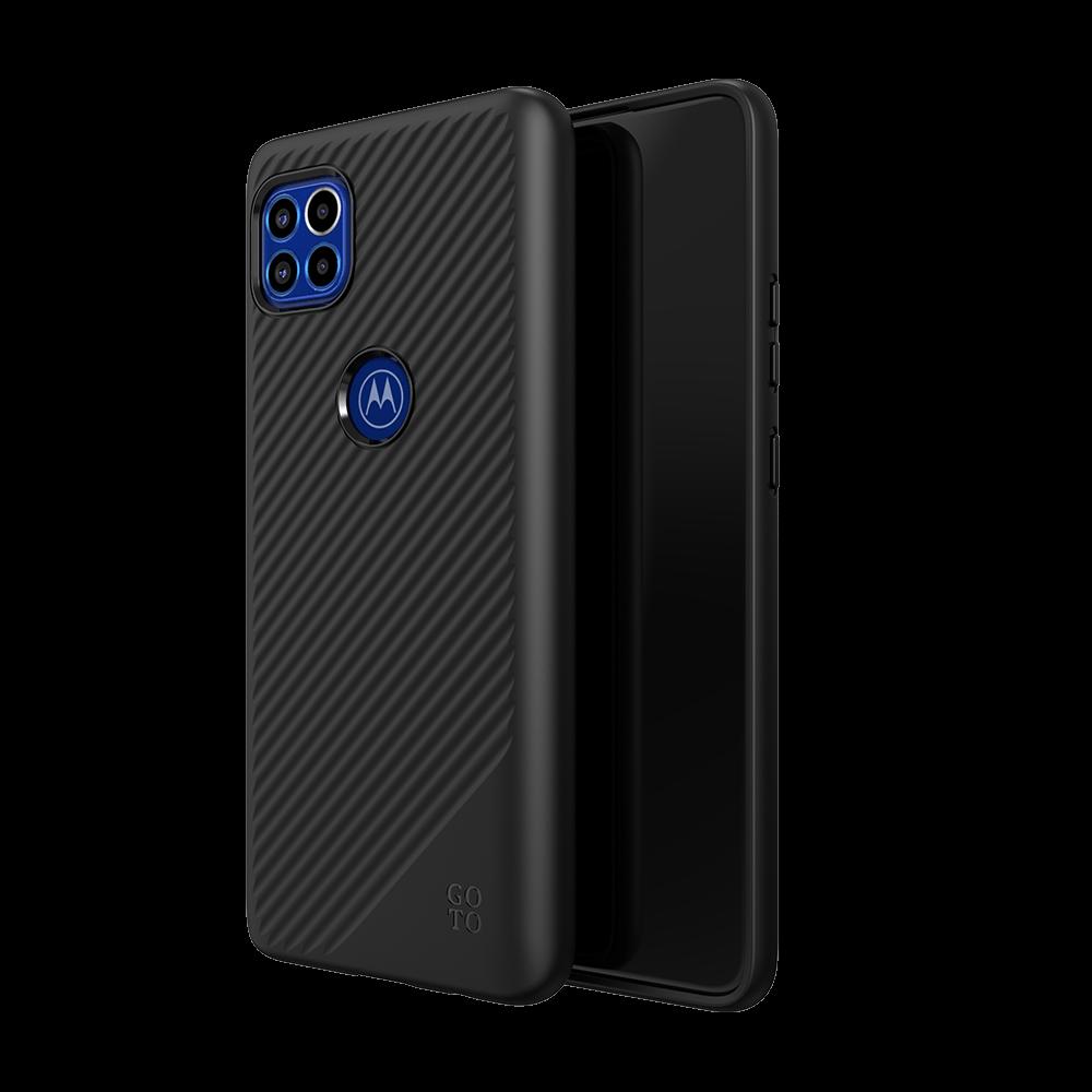 GoTo™ Fine Swell 45 Case for Motorola one 5G ACE - Black