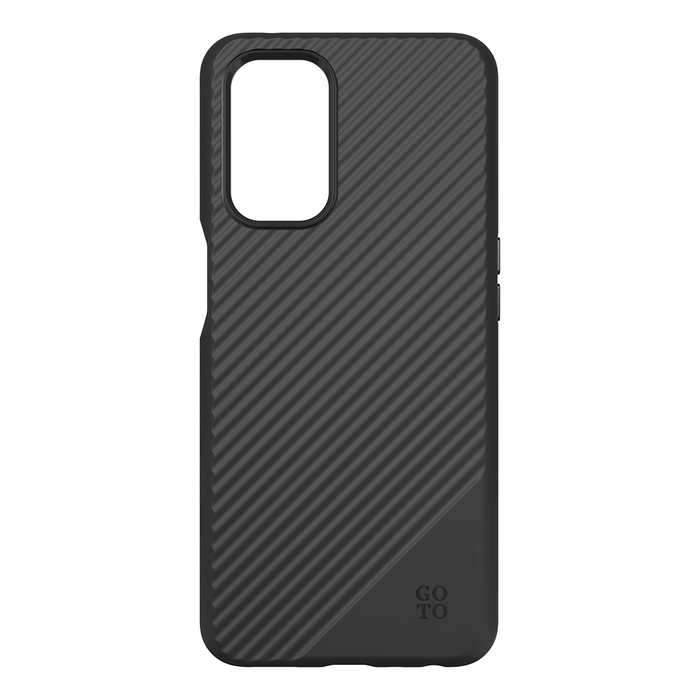 GoTo Fine Swell 45 Case for OnePlus Nord N200 5G - Black