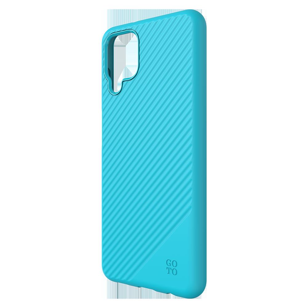 GoTo Fine Swell 45 Case for Samsung Galaxy A12 - Aqua
