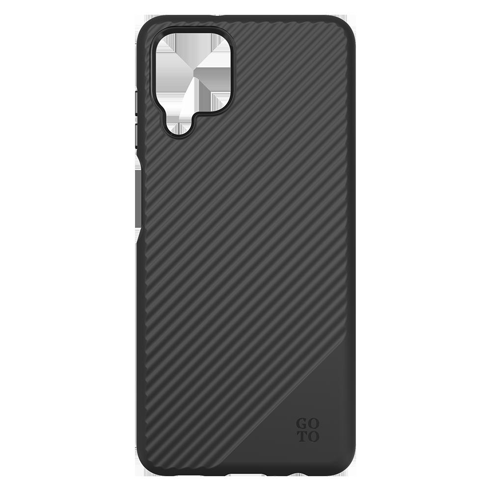 GoTo Fine Swell 45 Case for Samsung Galaxy A12 - Black R2