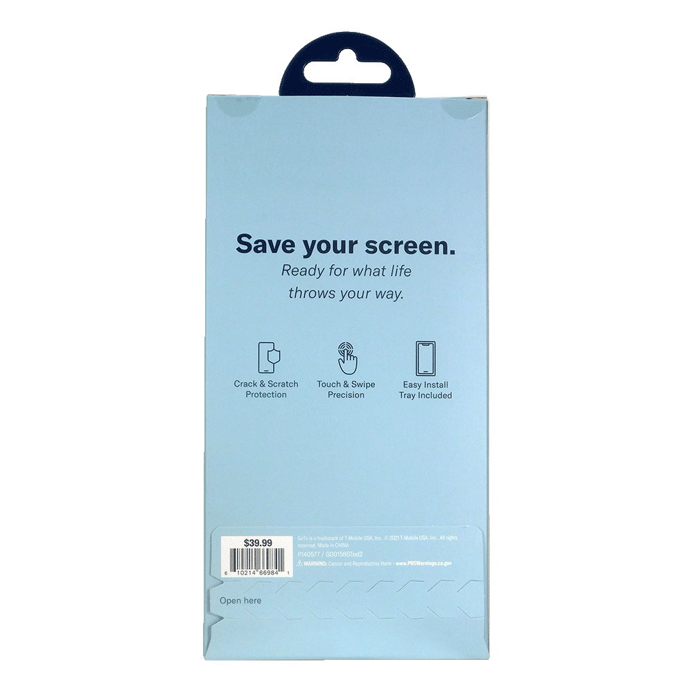 GoTo Tempered Glass Screen Protector for Samsung Galaxy A12 - Clear R2