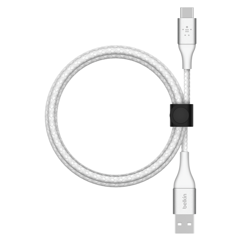 Belkin BOOST CHARGE Braided USB-A to USB-C Cable 2m - White