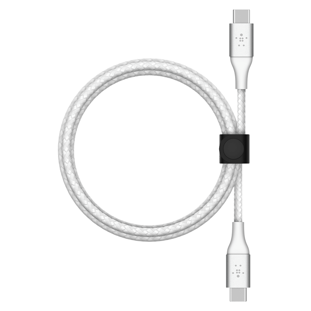 Belkin BOOST CHARGE Braided USB-C to USB-C Cable 2m - White