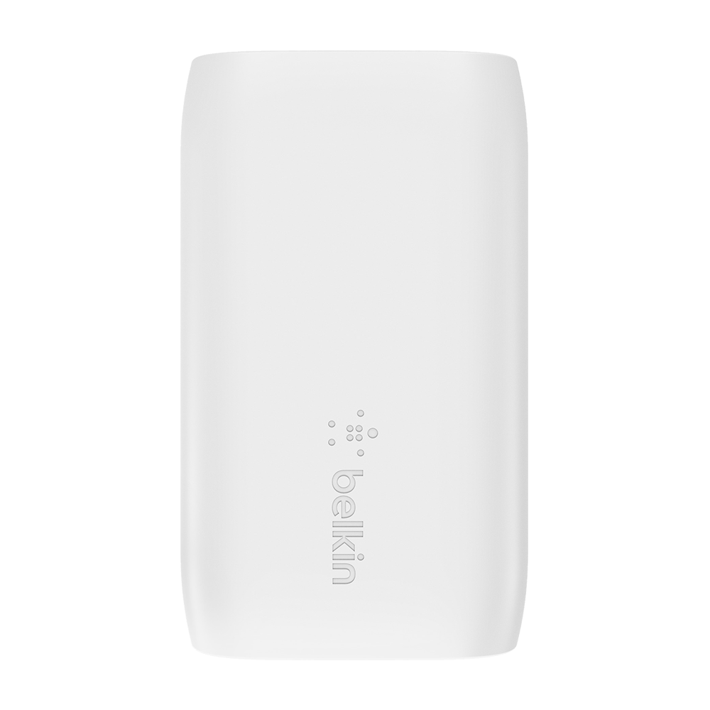 Belkin 32W Wall Charger + USB-C to Lightning Cable - White