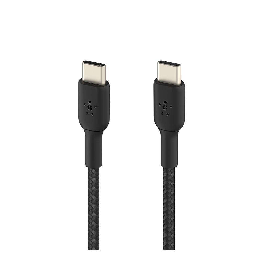 Belkin Dual 37W Car Charger and USB-C to USB-C Cable  - Black