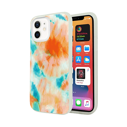 Sonix Case for Apple iPhone 12 mini - Tie Die Orange