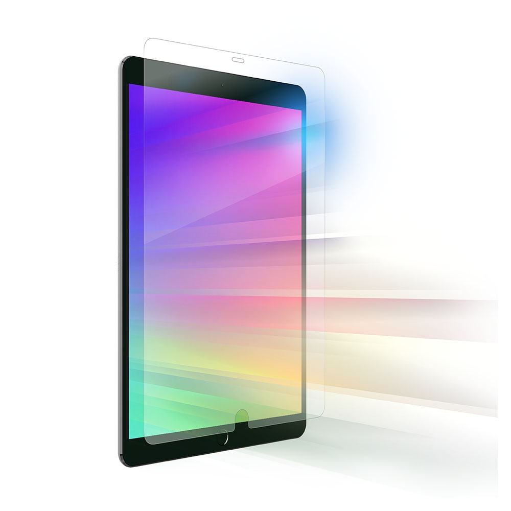 ZAGG InivisbleShield Glass and Visionguard Screen Protector for Apple iPad 7th Gen - Clear