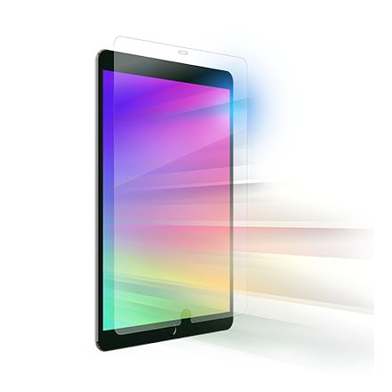 ZAGG InvisibleShield Glass and Visionguard Screen Protector for Apple iPad 7th Gen