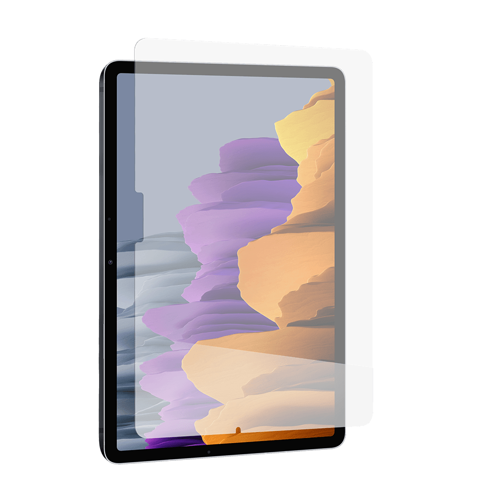 InvisibleShield GlassFusion Plus Screen Protector for Samsung Galaxy Tab S7 5G - Clear