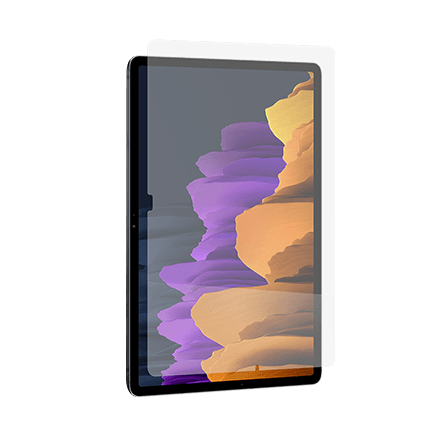 InvisibleShield GlassFusion Plus Screen Protector for Samsung Galaxy Tab S7+ 5G - Clear