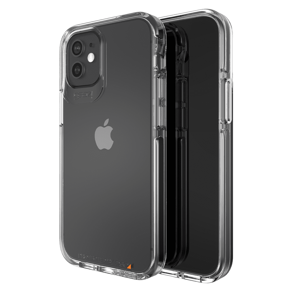 Gear4 Piccadilly Case for Apple iPhone 12 mini - Clear/Black