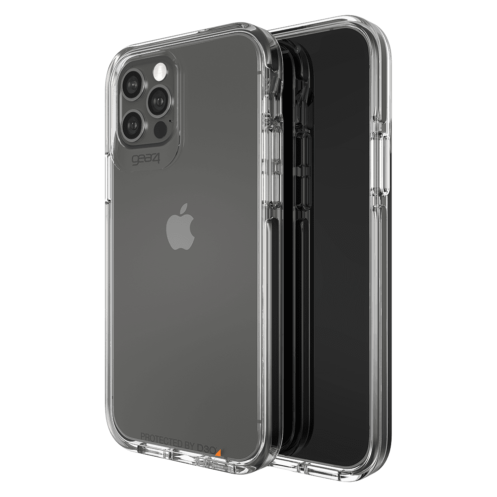 Gear4 Piccadilly Case for Apple iPhone 6.1/PRO - Clear/Black