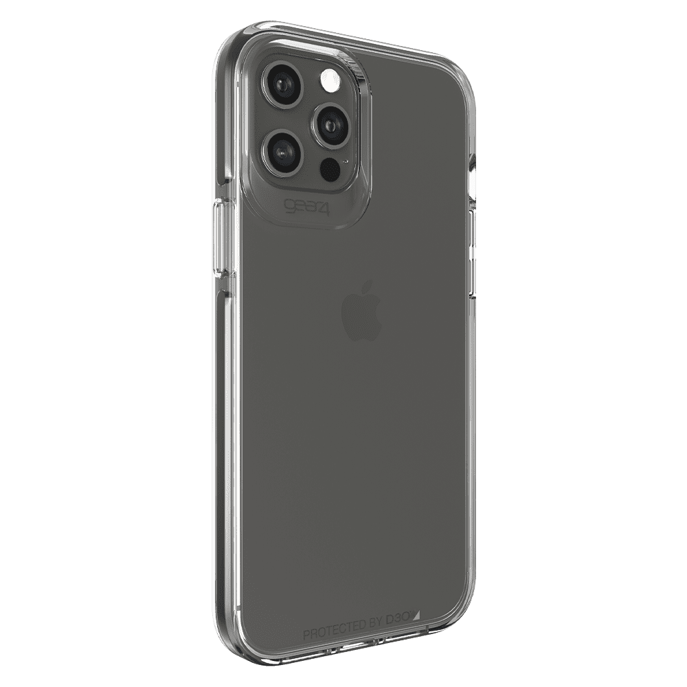 Gear4 Piccadilly Case for Apple iPhone 12 Pro Max - Clear/Black