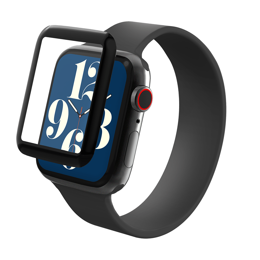 InvisibleShield GlassFusion+ Screen Protection for Apple Watch Series 6/SE/5/4 44mm - Clear